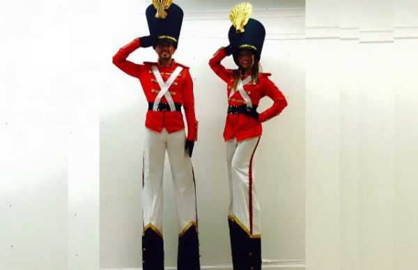 Living Toy Soldiers