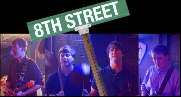 8th Street : Fraternity Party  Band